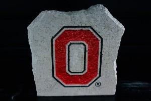 """Ohio State 7"""" X 7"""" Block """"O"""""""