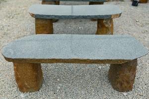 Granite Boulder Bench