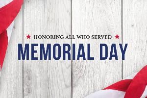 Honoring Memorial Day 2020!