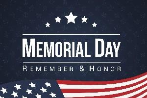 Remember and Honor Memorial Day 2020!